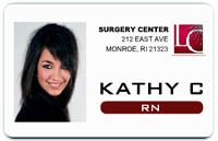 Medical ID badge