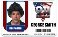 Fire ID badge