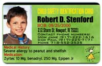 Child ID badge