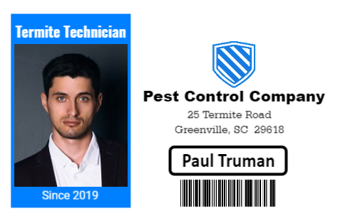 Field Technician ID
