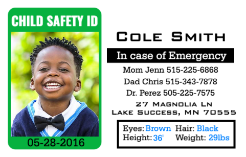 Child Safety ID