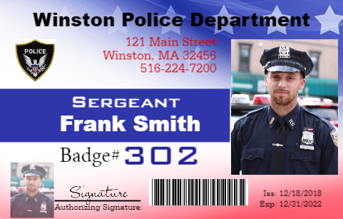 Police Officer ID