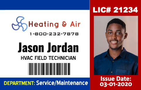 HVAC Field Technician ID